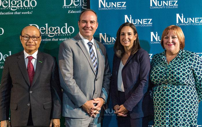 Delgado and Nunez sign historic agreement