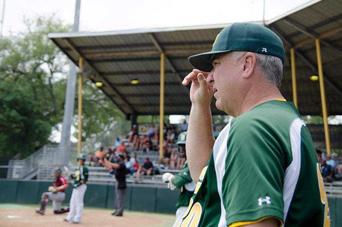 Delgado Community College Athletic Director/Head Baseball Coach Joe Scheuermann
