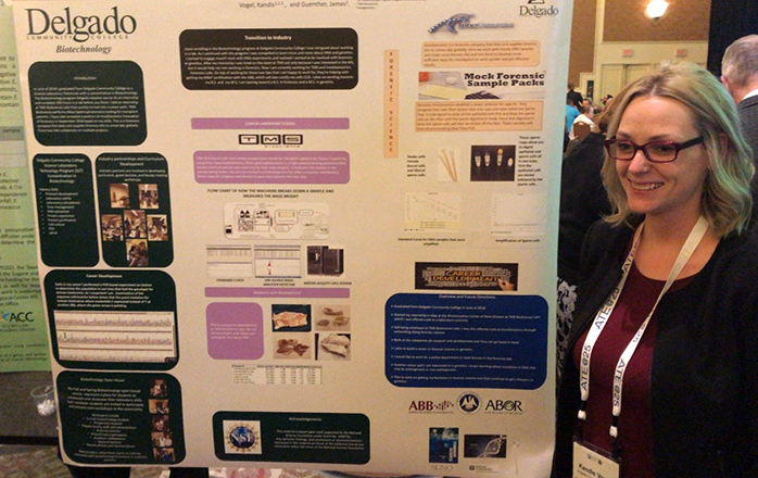Kandis Vogel, a student in the Science Laboratory Technology program, attended the National Science Foundation Advanced Technological Education Principal Investigators Conference in Washington, DC.