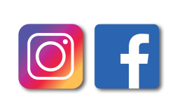 facebook & instagram icon