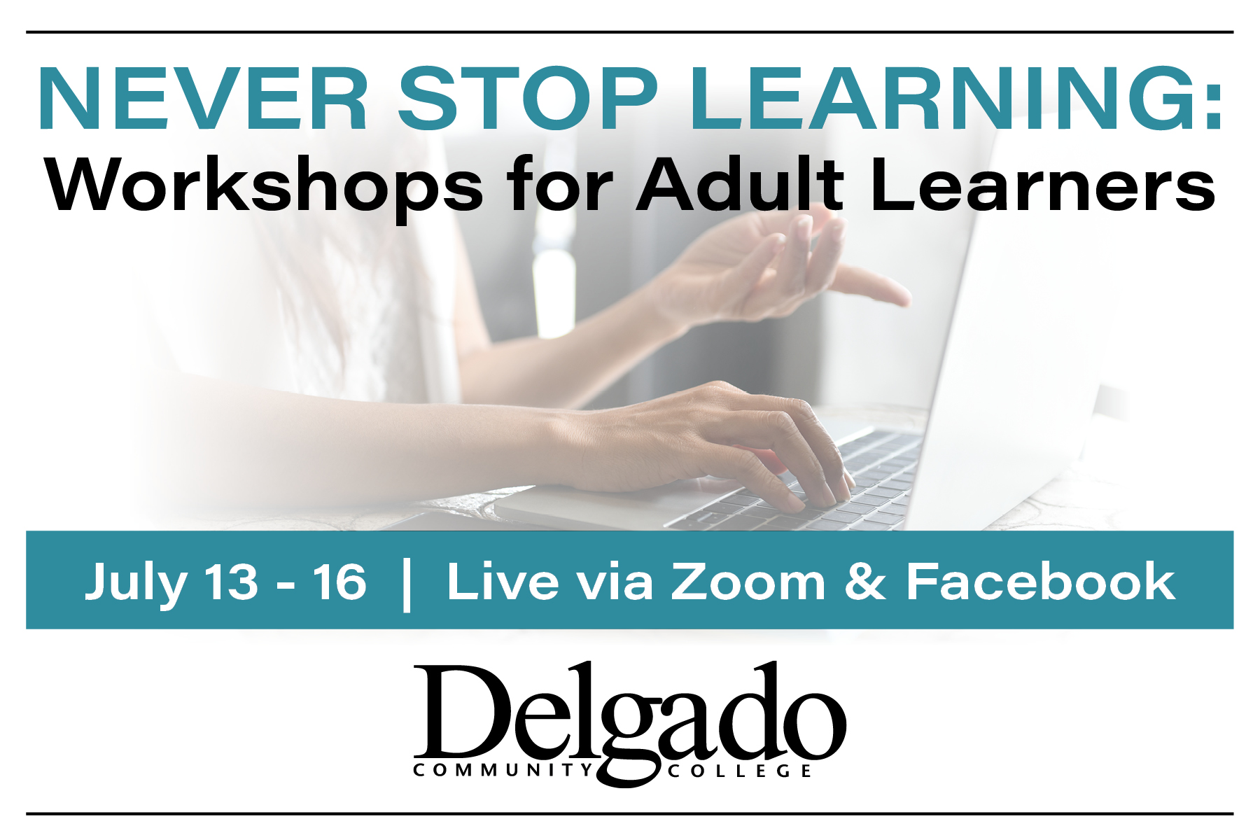 Adult Leaner workshops