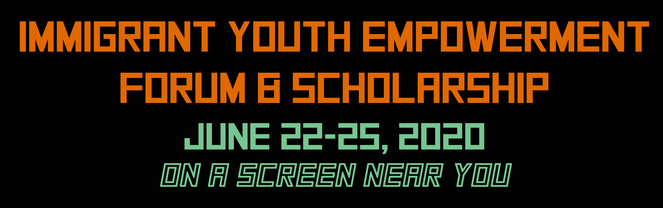immigrant youth forum header