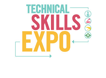 Logo for the Technical Skills Expo